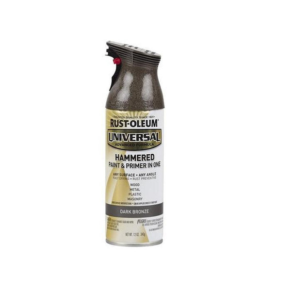 Rust-Oleum Universal Hammered Spray Paint - Dark Bronze - 340 Grams
