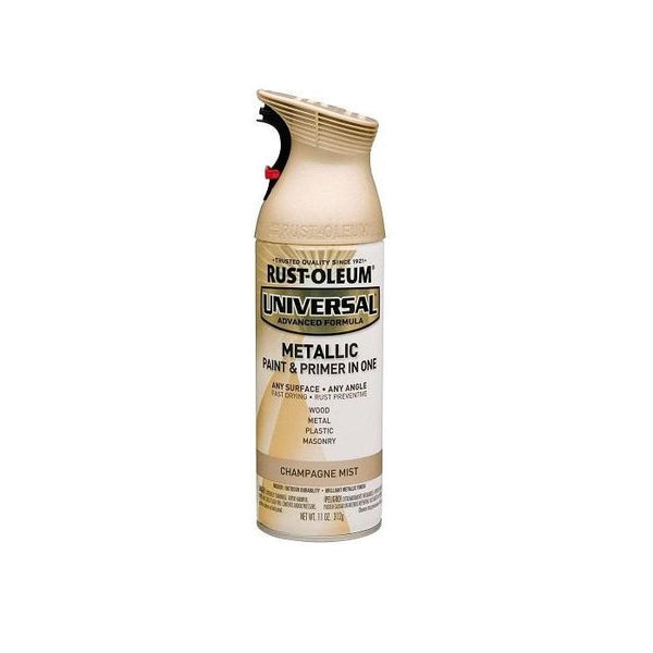 Rust-Oleum Universal Mist Metallic Spray Paint - Champagne Mist