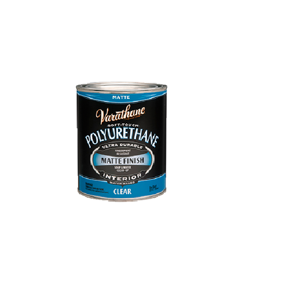 Rust-Oleum Varathane Soft Touch Polyurethane - Clear Matte Finish