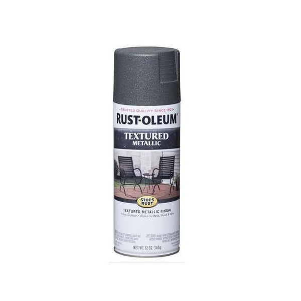 Rust-Oleum Stops Rust Textured Metallic Spray Paint - Moonlit Copper - 340 Grams