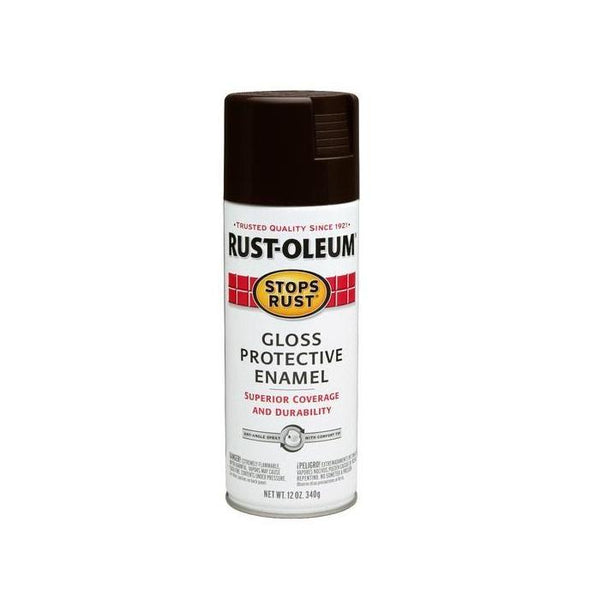 Rust-Oleum Stops Rust Enamel Touch Up Spray Paint - Gloss Fern - 340 Grams