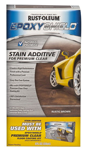 Rust-Oleum Epoxyshield Stain Additive for Premium Clear - Rustic Brown