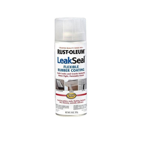 Rust-Oleum Leak Seal Water Leak Repair Spray - Black - 340 Grams