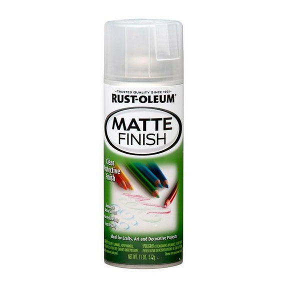 Rust-Oleum Specialty Clear Matte Finish Spray Paint