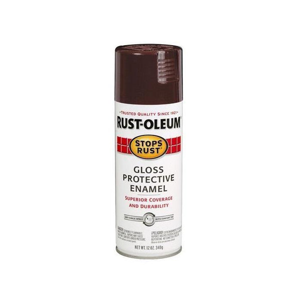 Rust-Oleum Stops Rust Enamel Touch Up Spray Paint - Gloss Maui Blue - 340 Grams