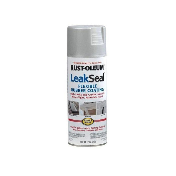 Rust-Oleum Leak Seal Water Leak Repair Spray - Aluminum - 340 Grams