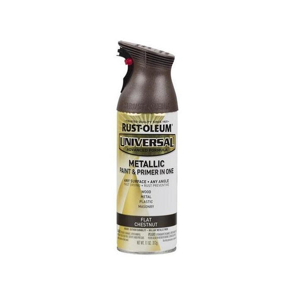 Rust-Oleum Universal Metallic Spray Paint - Satin Bronze - 312 Grams