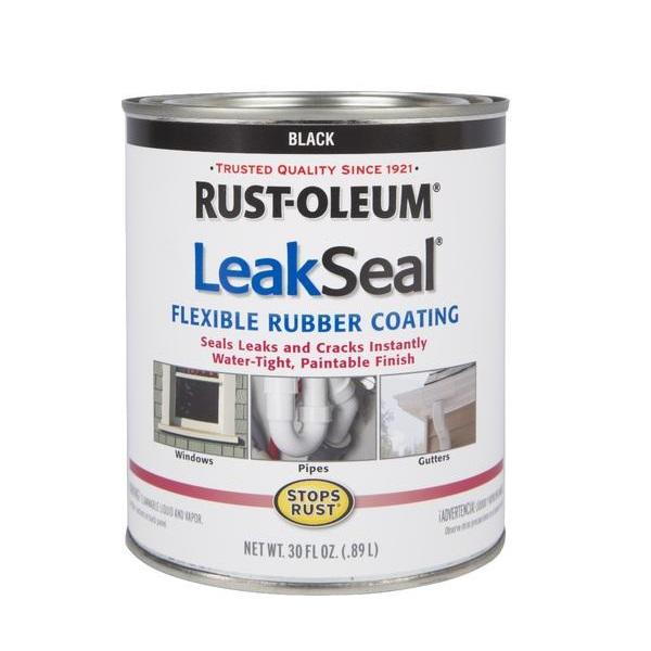 Rust-Oleum LeakSeal Brush Waterproof Rubber Coating