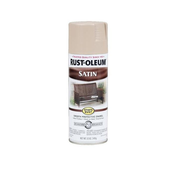 Rust-Oleum Stops Rust Satin Enamel Spray Paint - Sapphire - 340 Grams