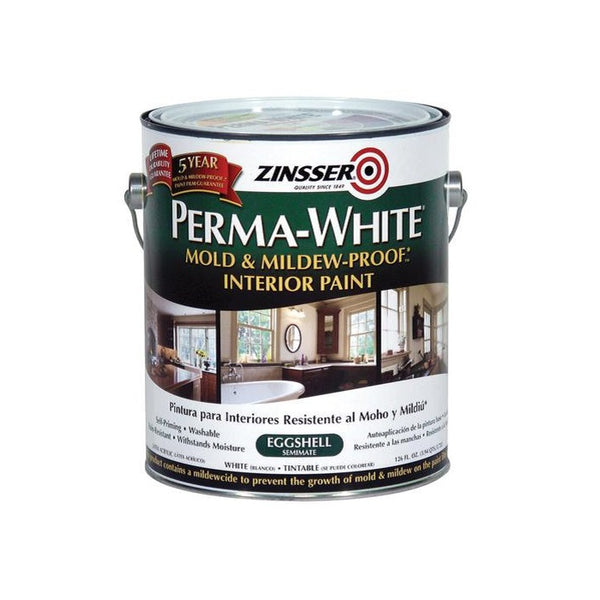 Rust-Oleum Zinsser Perma-White Mold & Mildew-Proof Interior Paint