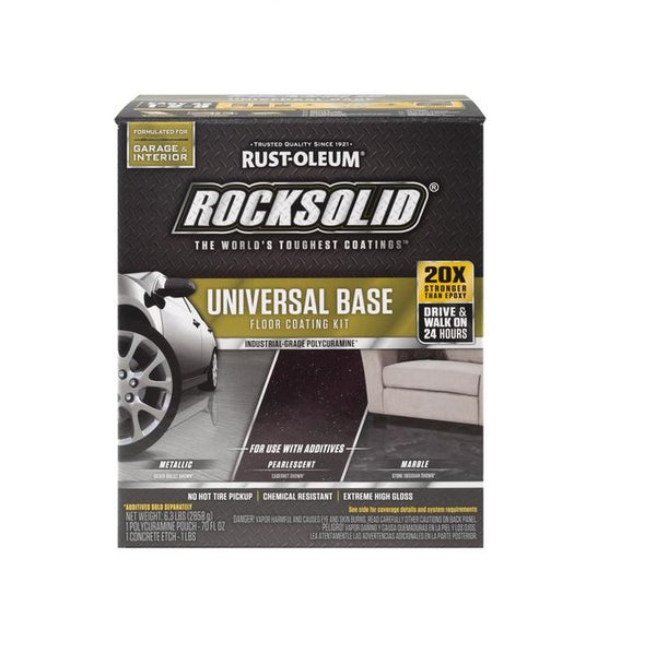 Rust-oleum RockSolid Floors Polycuramine Diamond Coat Clear Base