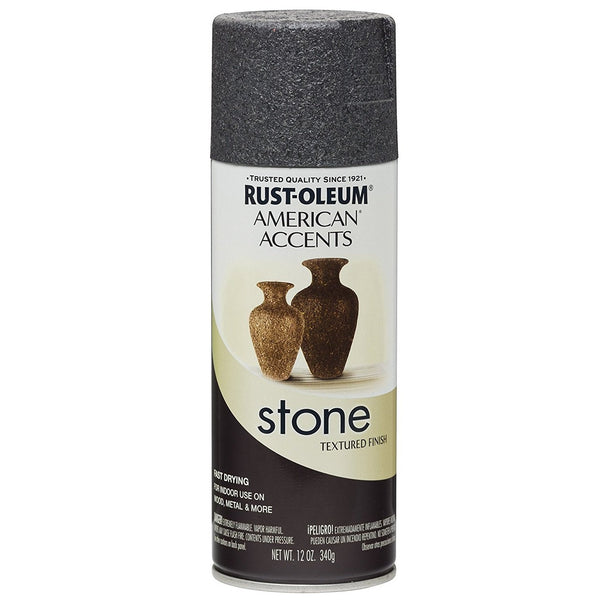 Rust-Oleum American Accents Stone Textured Spray Paint - Travertine - 340 Grams