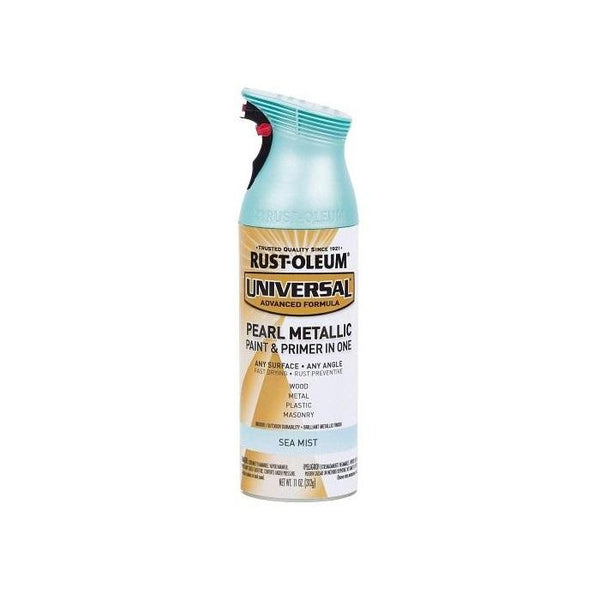 Rust-Oleum Universal Pearl Metallic Spray Paint - Sea Mist