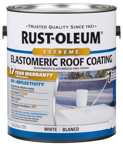 Rust-Oleum 17 Years Elastomeric Roof Coating Paint - 3.4 Ltr.