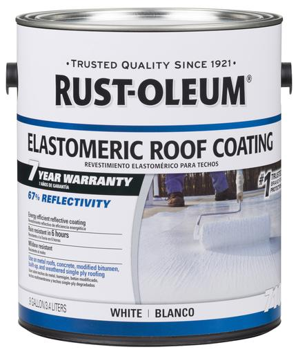 Rust-Oleum 7 Years Elastomeric Coating Paint for Roof
