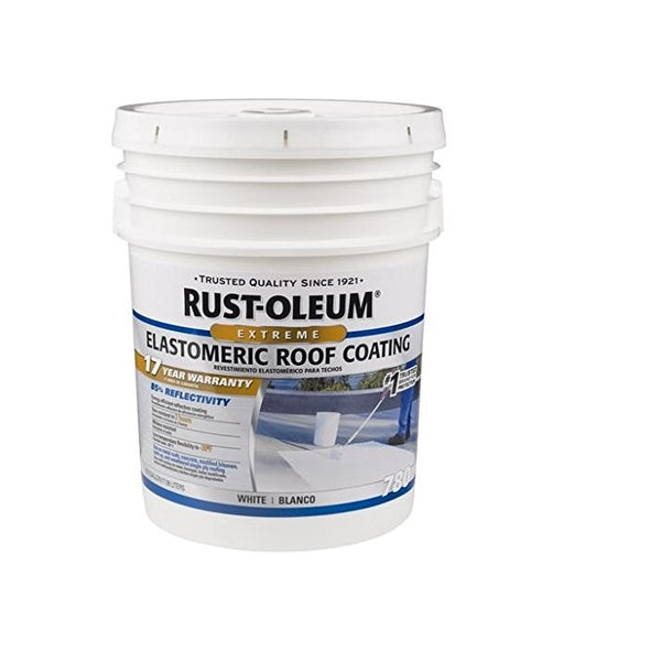 Rust-Oleum 17 Years Elastomeric Roof Coating Paint