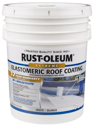 Rust-Oleum 17 Years Elastomeric Roof Coating Paint - 18 Ltr.