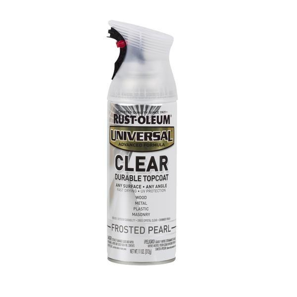 Rust-Oleum Universal Clear Top Coat Spray Paint