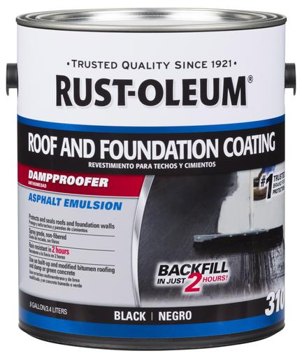 Rust-Oleum 310 Roof and Foundation Damp Proof Coating