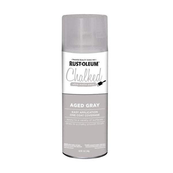 Rust-Oleum Specialty Chalked Spray Paint - Ultra Matte Finish - Linen White - 340 Grams
