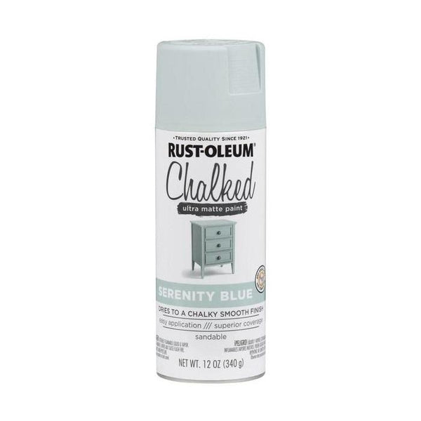 Rust-Oleum Specialty Chalked Spray Paint - Ultra Matte Finish - Blush Pink - 340 Grams