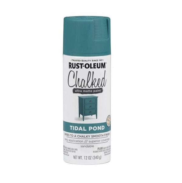 Rust-Oleum Specialty Chalked Spray Paint - Ultra Matte Finish - Chiffon Cream - 340 Grams