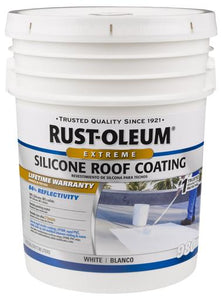 Rust-Oleum 980 Waterproofing Silicone Roof Coating Paint - 18 Ltr.