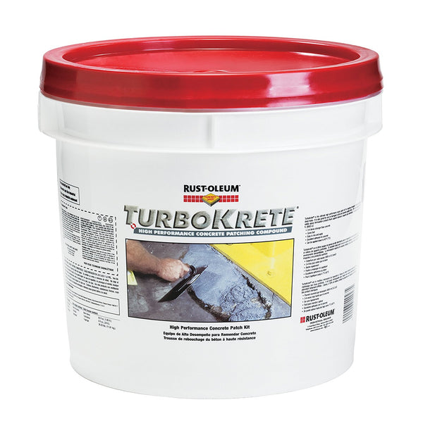 Rust-Oleum TurboKrete Concrete Patching Compound - 3.5 Gallon Kit