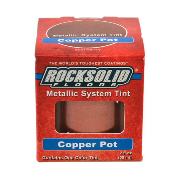 Rust-Oleum Rocksolid Floors Metallic Tint - Copper Pot