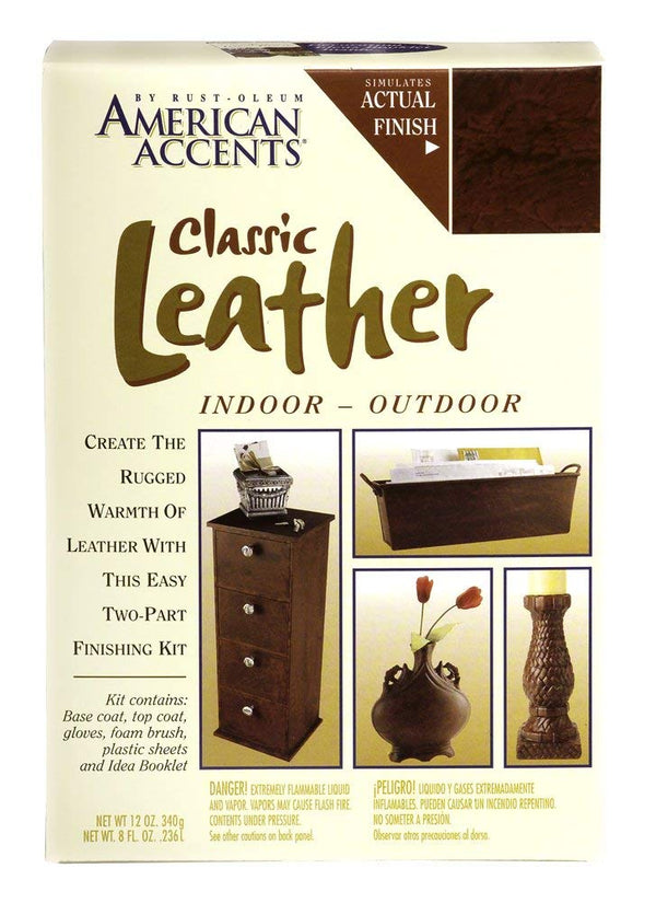 Rust-Oleum American Accents Classic Leather Spray Kit
