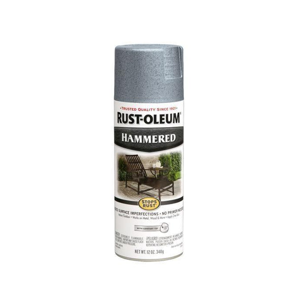 Rust-Oleum Stops Rust Hammered Metal Finish Aerosol Spray Paint - Deep Green - 340 Grams