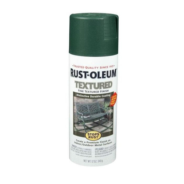 Rust-Oleum Stops Rust Textured Spray Paint - Dark Pewter - 340 Grams