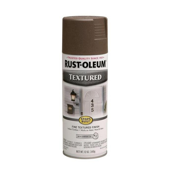 Rust-Oleum Stops Rust Textured Spray Paint - White - 340 Grams