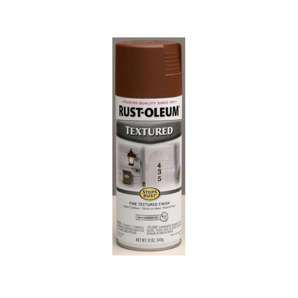 Rust-Oleum Stops Rust Textured Spray Paint - Bronze - 340 Grams