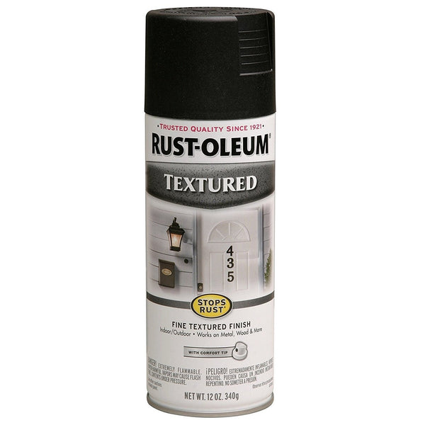 Rust-Oleum Stops Rust Textured Spray Paint - Rust - 340 Grams