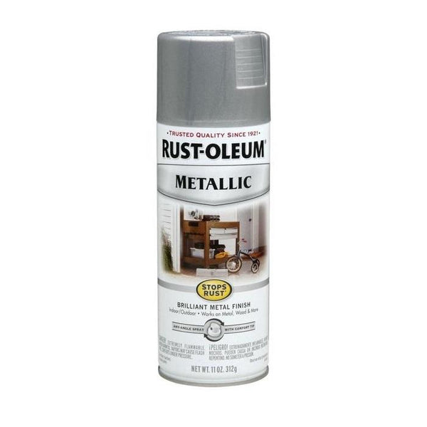 Rust-Oleum Stops Rust Metallic Aerosol Spray Paint - Gold Rush - 312 Grams
