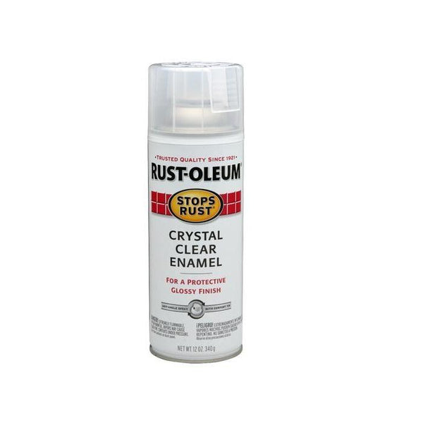 Rust-Oleum Stops Rust Enamel Touch Up Spray Paint - Semi-Gloss Black - 340 Grams