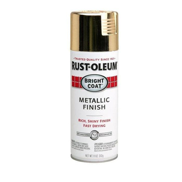 Rust-Oleum Stops Rust Bright Coat Metallic Spray Paint