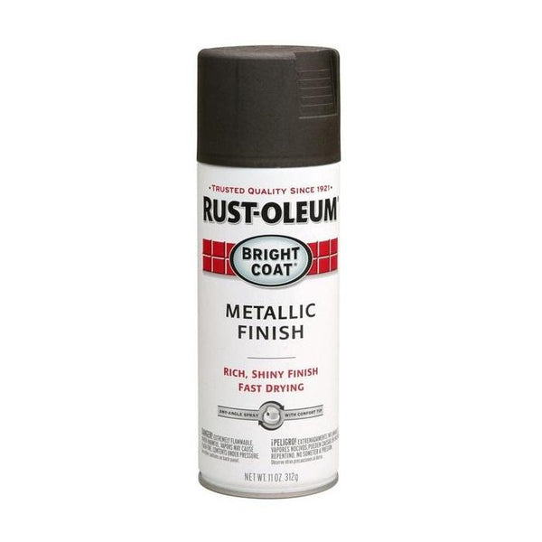 Rust-Oleum Stops Rust Bright Coat Metallic Spray Paint - Gold - 312 Grams