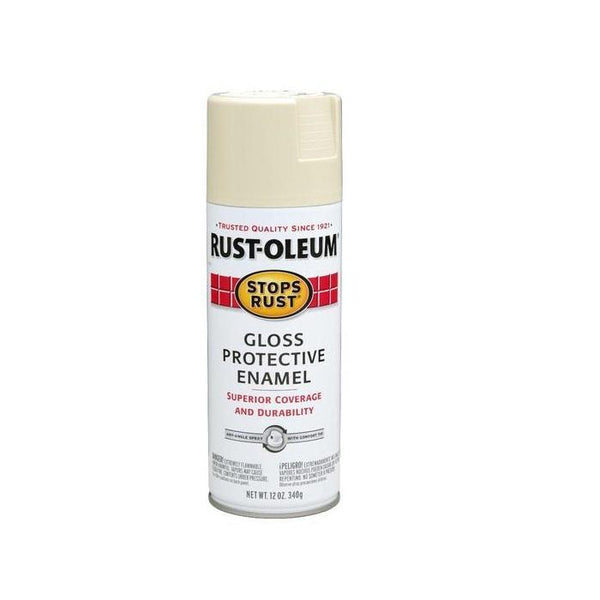 Rust-Oleum Stops Rust Enamel Touch Up Spray Paint - Gloss Kona Brown - 340 Grams