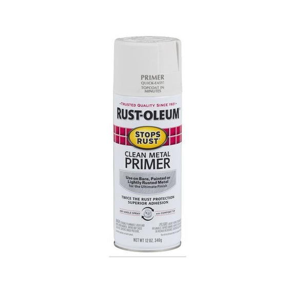 Rust-Oleum Stops Rust Clean Metal Primer Spray