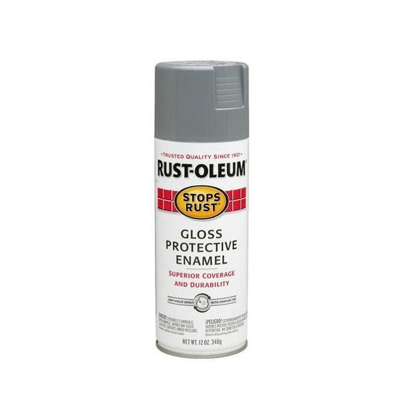 Rust-Oleum Stops Rust Enamel Touch Up Spray Paint - Gloss Black - 340 Grams