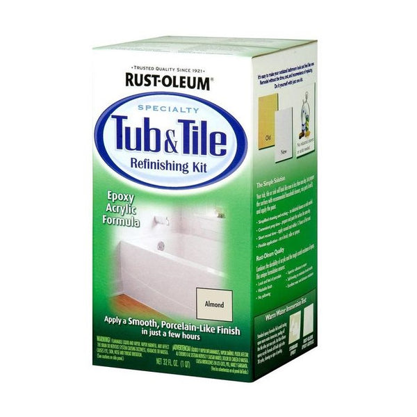 Rust-Oleum Tub and Tile Paint (Refreshing Kit) | Bathroom Tile Paint