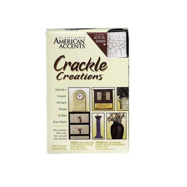 Rust-Oleum American Accents Crackle Spray Paint Kit - Willow Green