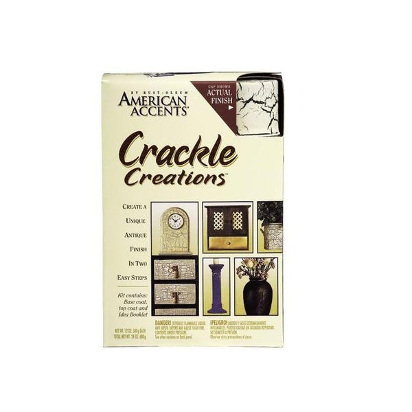 Rust-Oleum American Accents Crackle Spray Paint Kit - Antiqued Ivory