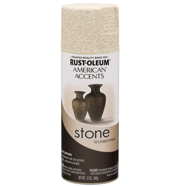 Rust-Oleum American Accents Stone Textured Spray Paint - Red Rock - 340 Grams