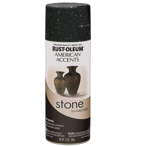 Rust-Oleum American Accents Stone Textured Spray Paint - Bleached Stone - 340 Grams