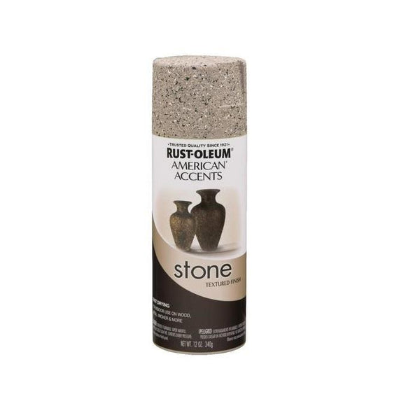 Rust-Oleum American Accents Stone Textured Spray Paint - Pebble - 340 Grams