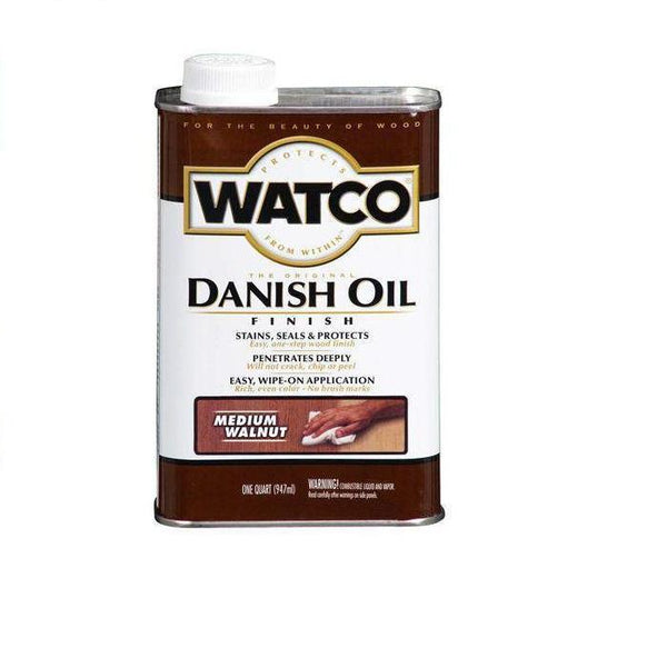 Rust-Oleum Watco Danish Oil Stains, Seals and Protect Wood In One Step