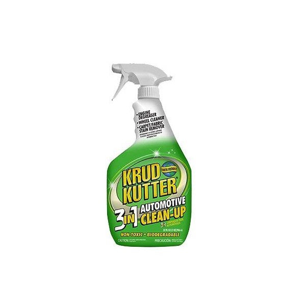 Car Cleaning Kit (All Purpose) | Krud Kutter 3-In-1 Automotive Clean-Up